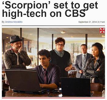 Scorpion to go High-Tech